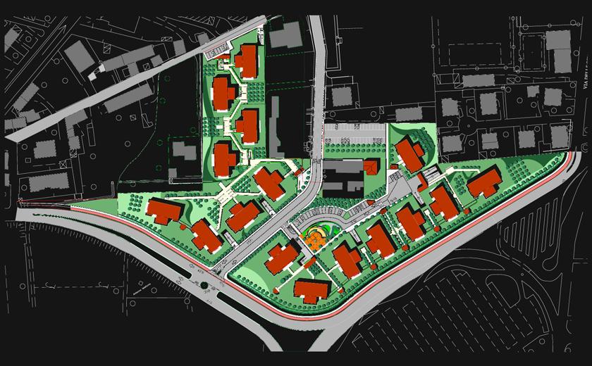 Udine planimetria